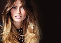 Окрашивание волос в стиле омбре.