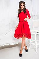 Супер модное красное платье