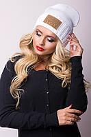 Молодежная стильная женская  шапка