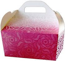 """Коробки для свадебного каравая """"Для дорогих гостей!"""" (марсала)"""