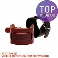 Антический кожаный браслет Arthur / Оригинальные подарки