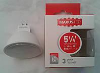 Светодиодная лампа Maxus LED-513 5W 3000К (белый теплый)