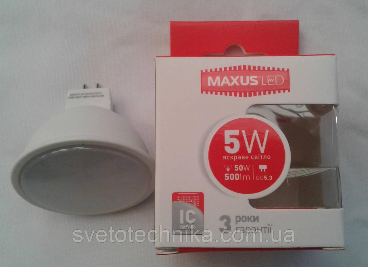 Светодиодная лампа Maxus LED-512 5W 4100К