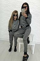 Family look спортивный костюм для мамы и дочки звёздочки