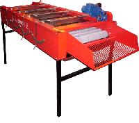 Стол для очистки чеснока щёточный CEPI-B. Стіл для очистки часнику щітковий CEPI-B