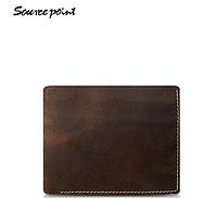 Мужской кожаный кошелек Sourse Point Mini