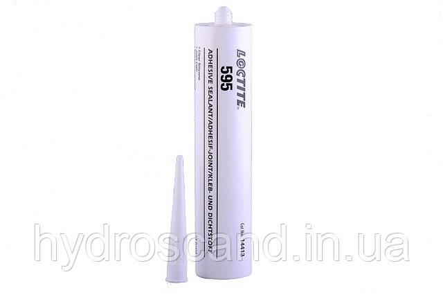 Loctite 595 (Локтайт 595)  — силикон уксусный прозрачный, 315 мл