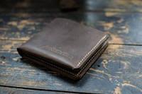 Кошелек бумажник из натуральной кожи mod.LifeStyler. Отличное качество. Ручная работа. Купить. Код: КДН2064