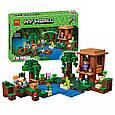 """Конструктор лего майнкрафт Аналог Lego Minecraft Bela 10622 """"Хижина ведьмы"""" 508 дет, фото 3"""