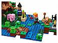 """Конструктор лего майнкрафт Аналог Lego Minecraft Bela 10622 """"Хижина ведьмы"""" 508 дет, фото 6"""