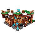 """Конструктор лего майнкрафт Аналог Lego Minecraft Bela 10624 """"База на водопаде"""" 747 дет, фото 4"""