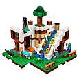 """Конструктор лего майнкрафт Аналог Lego Minecraft Bela 10624 """"База на водопаде"""" 747 дет, фото 5"""