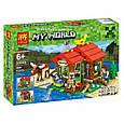 """Конструктор лего майнкрафт Аналог Lego Minecraft Lele 33020 """"Домик у озера 3 в 1"""" 404 дет, фото 2"""