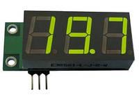 Цифровой вольтметр встраиваемый постоянного тока