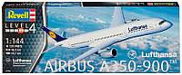 Самолет Airbus A350-900 Lufthansa, 1:144, Revell