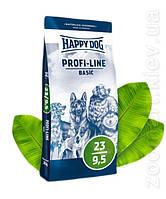 Корм для собак Happy Dog (Хеппі Дог) Profi-Line Basic 23/9,5 – 20 кг