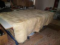 Ковёр, овчина 8 шкур, бежевый 2, прямоугольный