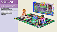 Игровой Коврик для малышей Rally 528-7A - разм.коврика 81*72см, машинки 3шт, в коробке 50*24*5.5см