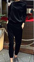 Женский велюровый спортивный костюм код 233  ем