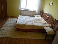 Комплект для спальни, 18 шкур, овчина, белый, 6 предметов