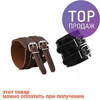 Антический кожаный браслет Aubrey / Оригинальные подарки