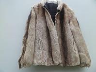 Куртка зимняя, фасон под волка, цвет серый