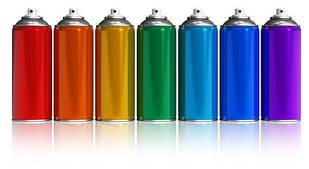 Аэрозоли и декоративные краски