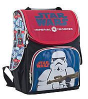 Школьный каркасный рюкзак 1 Вересня h-11 star wars для мальчика (553302)