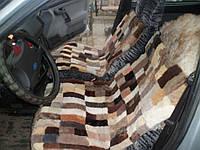 Меховая автомобильная накидка, размер 110 на 55 см