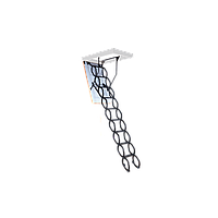 Лестница чердачная Flex Termo Metal Box Oman высота 290 см. 100х60 см