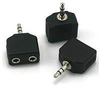 Разветвитель кубик переходник для наушников 3.5 мм
