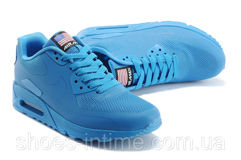 cbf157fb Мужские кроссовки Nike Air Max 90 Hyperfuse синие - SHOES-INTIME в Харькове