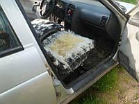 Накидка на авто сидения, овчина, размер 50 на 50 см, квадратная