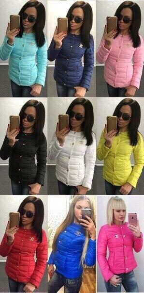 Удобная курточка Шанель, куртка весна-осень синтепон 100