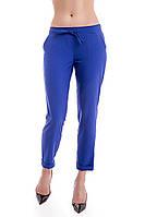 Укороченные женские брюки, размеры 42 - 48