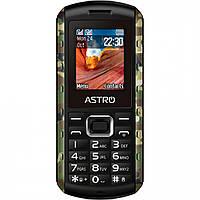 """Защищенный телефон Astro A180RX Camo черный IP67 (2SIM) 1.77"""" 24/32МБ+SD 0.8MP оригинал Гарантия!"""