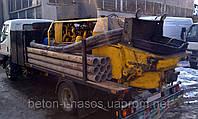 Аренда бетононасосов с производительностью от30 до 70м3/час.