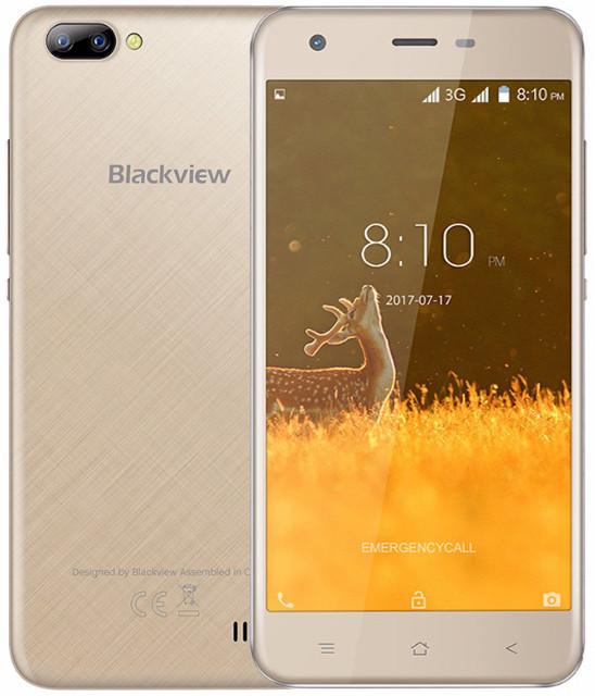 Blackview A7 | Золотой | 1Гб / 8Гб |  4 ядерный