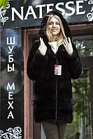 """Норковая шуба """"Далиса"""" Real mink fur coats jackets, фото 1"""