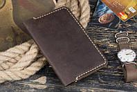 Вместительное портмоне под паспорт и документы. Хорошее качество. Стильный дизайн. Ручная работа. Код: КДН2068