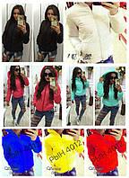 Стильная деми куртка из плащёвки с капюшоном в разных цветах