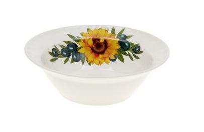 Тарелка керамическая глубокая оливки 0,5 л (2 сорт)