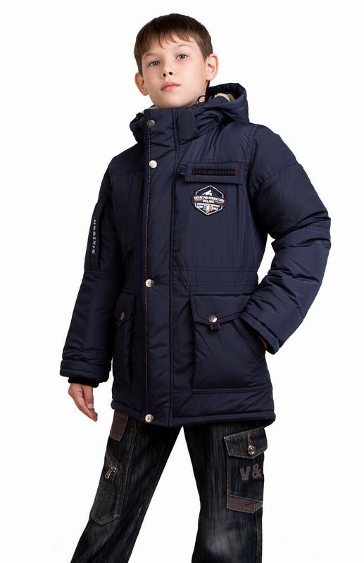 Зимняя куртка-парка монблан для мальчика-подростка