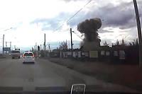 В России сдали в лом ракету. Она взорвалась (ВИДЕО)