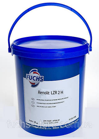 Пластичная смазка Fuchs RENOLIT LZR 2 H, 18 кг