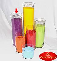 Ваза стеклянная прозрачная  h 380 мм; d 120 мм ваза цилиндр