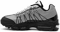 Мужские кроссовки Nike Air Max 95 Ultra Jacquard Black White