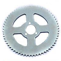 Звезда задняя минимото, детский квадроцикл (цепь 25H) 68z (D=29mm) на три болта, фото 1