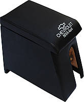 Подлокотник Niva Chevrolet ВАЗ 2123 ( Нива Шевроле ) черный с вышивкой