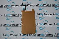 Шлейф для мобильного телефона Apple iPhone 6 кнопки меню с металлической пластиной дисплея